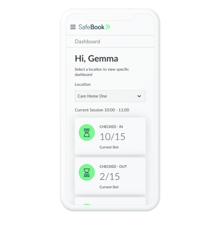 SafeBook Mobile Dashboard